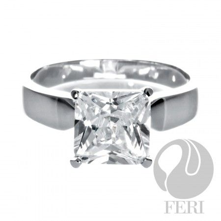 Breathtaking Solitaire - Ring    - 0.5 micron natural rhodium plating  - Set with AAA white cubic zirconia  https://www.globalwealthtrade.com/vdm/display_item.php?referral=stephjames&category=66&item=5494&cntylng=&page=1