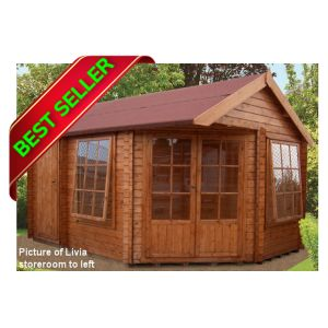 livia ropsley corner log cabin 10g x 14 other sizes available - Garden Sheds 7 X 14