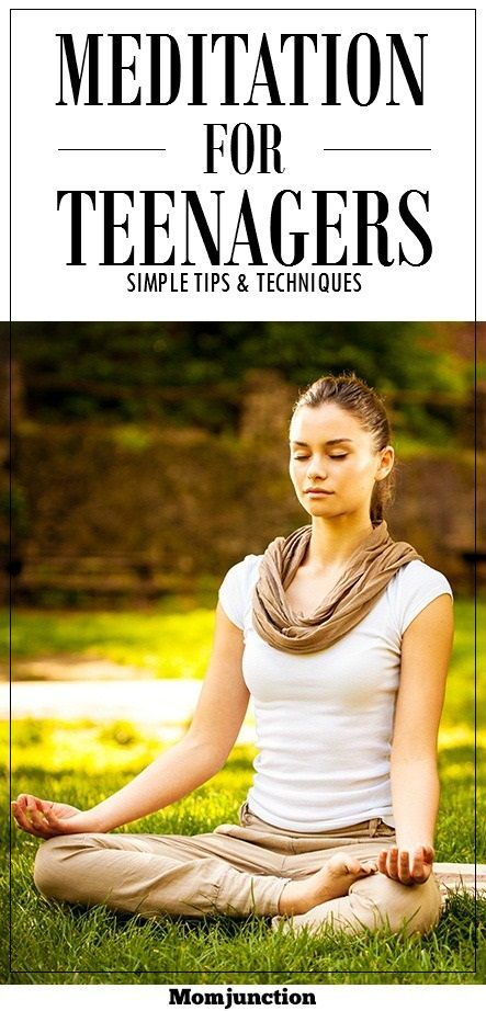 Meditation Techniques For Teens: Meditating just for a few minutes a day can help your teen gain emotional balance.Parents can help their children relax and unwind by teaching them some effective meditation techniques like Read On!