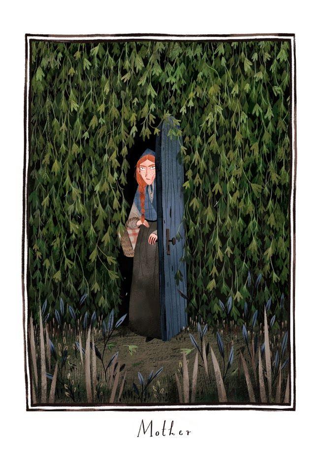 Illustration for The Secret Garden by Julia Strada
