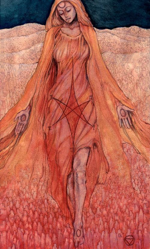 XVII The Star: The Mary-El Tarot