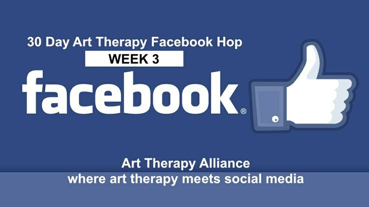 Another great week of art therapy page hopping on Facebook! In case you missed a day or two, here's another look at the pages featured during Week 3 of the Art Therapy Alliance's 30 Day Art Therapy Facebook Hop: http://wp.me/p3bAfe-aF