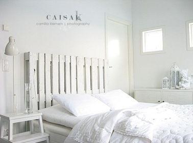 298 best images about d co chambre bedroom on pinterest - Cloison en palette ...