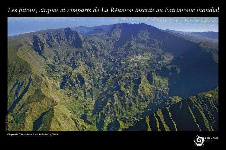 Le Cirque de Cilaos, patrimoine mondial, Destination Sud Réunion