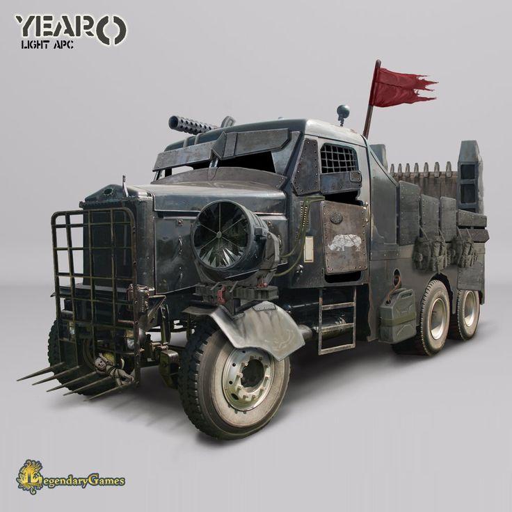 6x6 armored car concept - photo #32