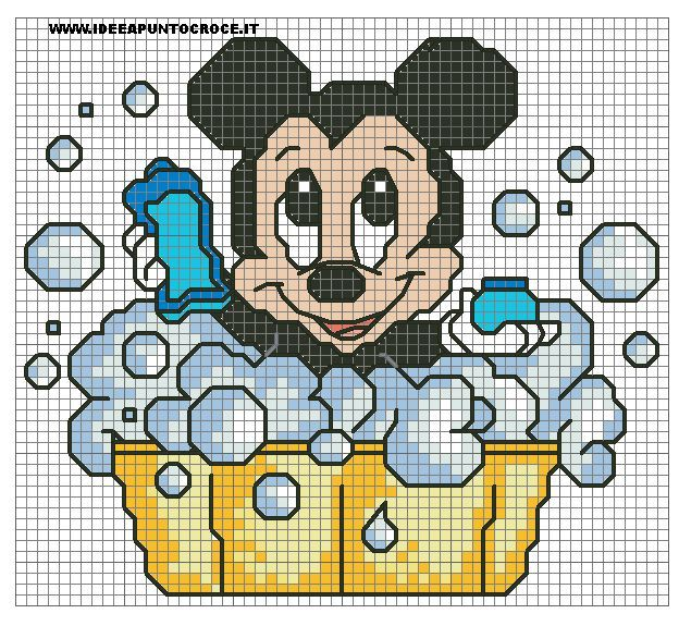 Schema Baby Topolino Bagnetto by syra1974 on DeviantArt
