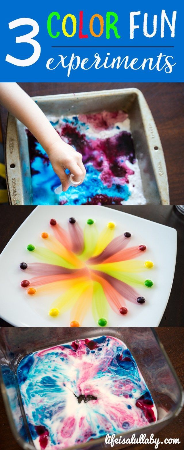 Some really fun science kids activities! The skittles one is really easy and fun to do!