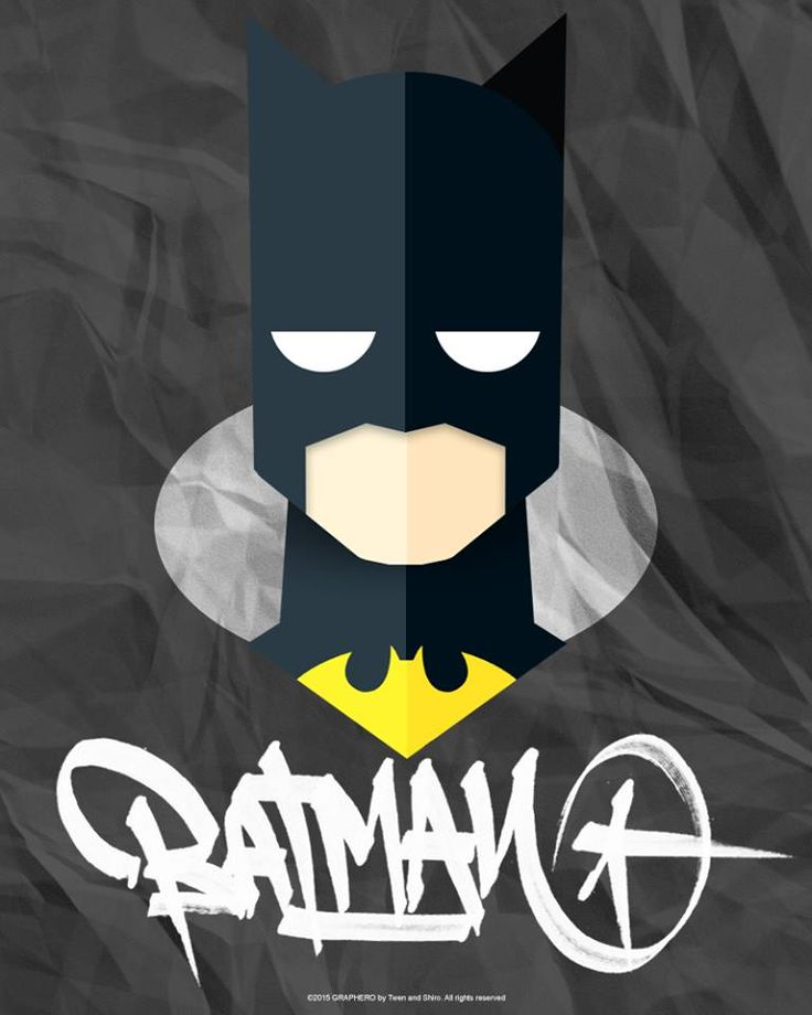 SUPERHEROES MINIMAL: BATMAN DC COMICS by Twen