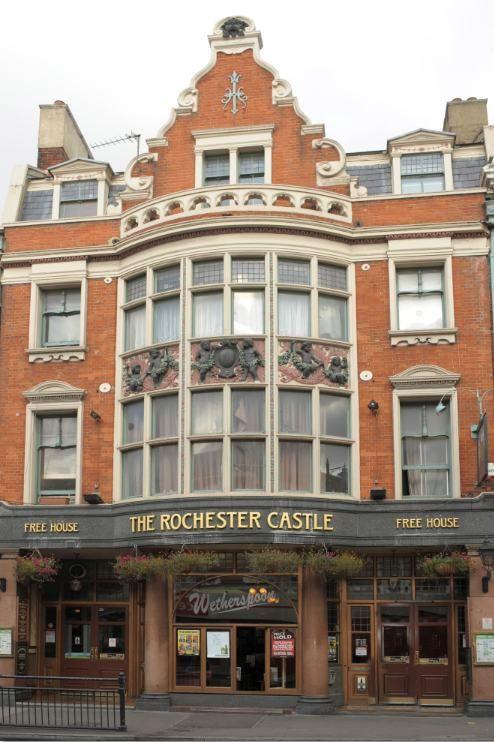 the Rochester Castle in Stoke Newington.