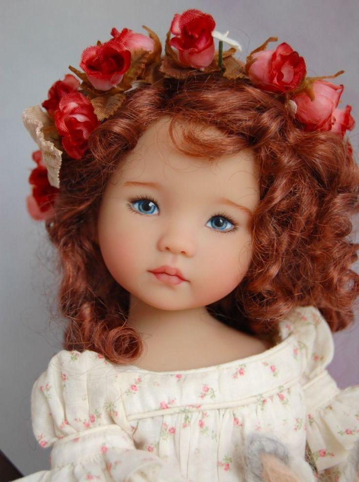 "Dianna Effner's Little Darling #2 ""Fisher Jean"" Painted by Joyce Mathews in   eBay"