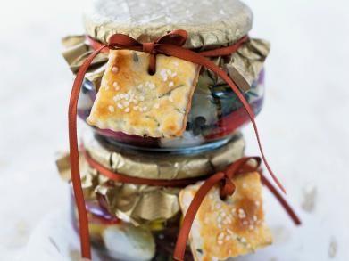 Mozzarella op kruidenolie