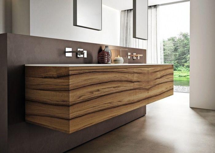 Les Meilleures Idées De La Catégorie Meuble Lavabo Double Sur - Meuble salle de bain design double vasque