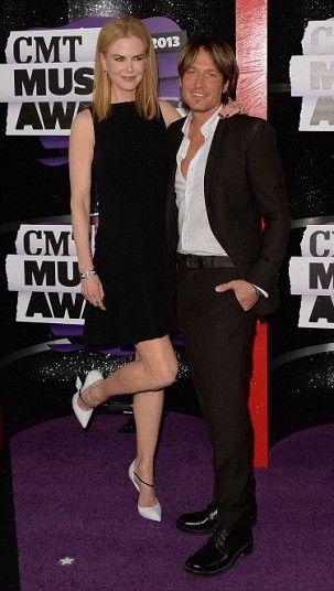 CMT Music Awards Nicole Kidman and Keith Urban, 2013