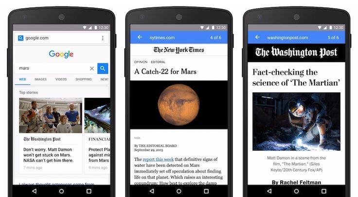 Google AMP özelliğini tüm mobil arama sonuçlarına getiriyor