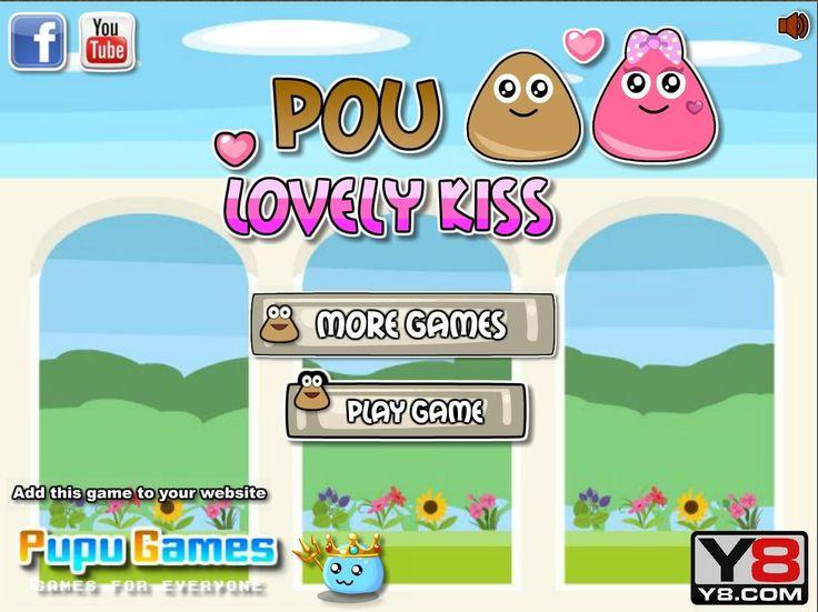 Popularny Pou wyrusza na wielką przygodę po pocałunki piękniej dziewczyny. Czy zdoła do niej dotrzeć? http://www.ubieranki.eu/gry/3840/slodki-pocalunek-pou.html