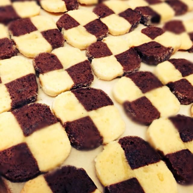 クックパッドでレシピ ID'2152382でつくらせてもらいました☆ 焼くとき詰めすぎてひっついちゃいました(T ^ T) - 77件のもぐもぐ - アイスボックスクッキー by sukai0505