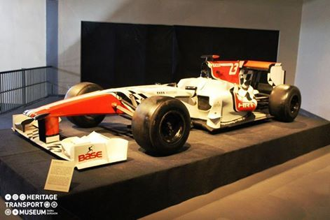 #SPEED #SPORT #SPUNK  Amongst the many beautiful collections of the museum is this stunning Full Scale replica of #F1 car by Base Corporation!
