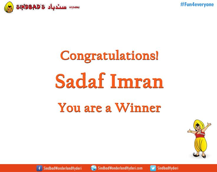 Our Winners of February 2016 Contests are:  Sadaf Imran Ramsha DK Muhammad Hassan  Bilquis Syed Bushra Asif  Kindly inbox your CNIC no., name, contact number, and address to claim your prizes.