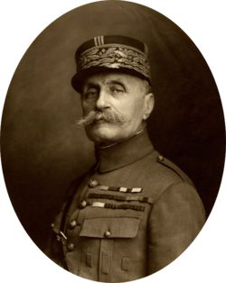 1925 ♦ March 16 - Ferdinand Foch,  French general and Marshal of France, Great Britain and Poland, a military theorist and the Supreme Allied Commander during the final year of the First World War.