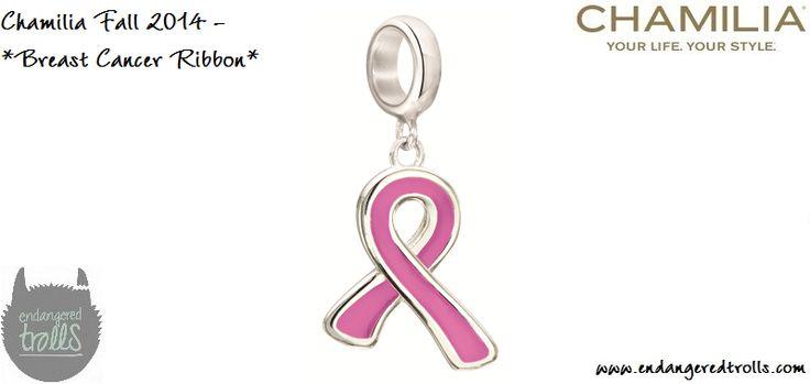 Chamilia Breast Cancer Ribbon