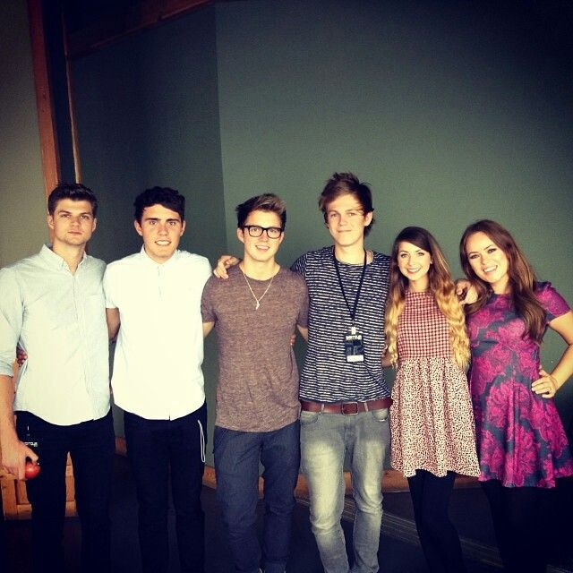 I mostly watch their videos, more than the other youtubers (these are British youtubers)