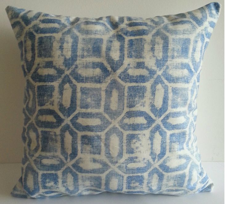 Sky Blue Pillow by PaolaGpillows on Etsy