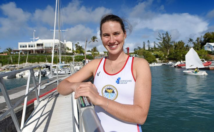 Shelley Pearson opened Bermuda's contribution to the 2016 Olympic Games in Rio de Janeiro with a sterling third-place finish in the women's single