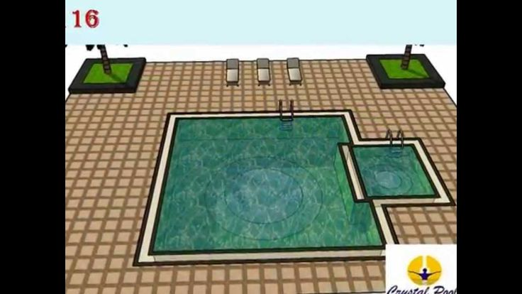swimming pool shape by crystal pools