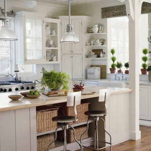 Kücheninsel design ideen mit viel stauraum