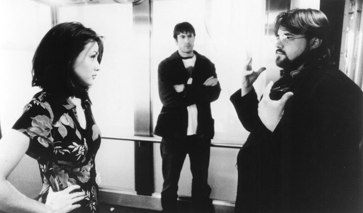 Shannen Doherty, Kevin Smith, and Jason Lee in Mallrats (1995)