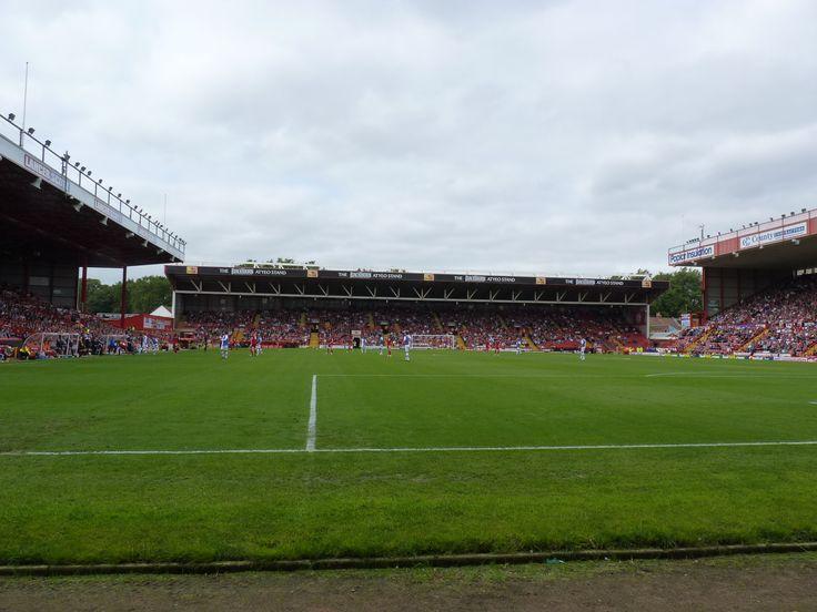 Bristol City Football Club. Ashton Gate, Bristol, England