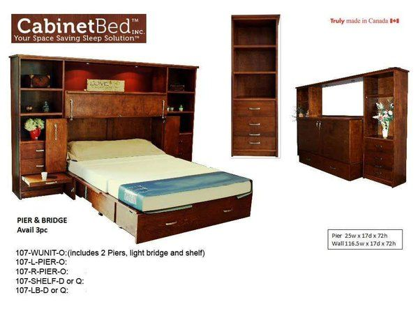 14 Best Cabinet Bed Images On Pinterest 3 4 Beds Space