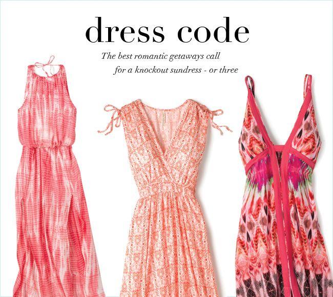 Resort Casual Dress Code - Dress Nour