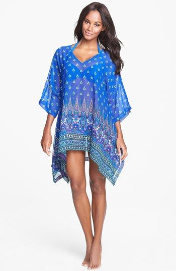 Tommy Bahama 'Foulard Frenzy' Cover-Up Tunic | Nordstrom
