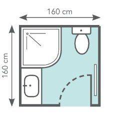 bien amnager une petite salle de bains leroy merlin - Plan D Une Salle De Bain