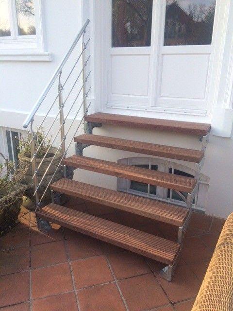 Dolle Gardentop Dolle Außentreppe Gardentop – Hochwertig verzinke wetterfeste Außentreppe individuell einsetzbar