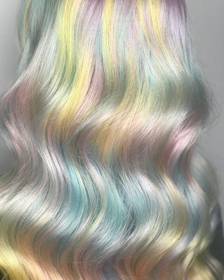 Dreamy W A T E R C O L O R Hair Color By Kasumia Hair Using