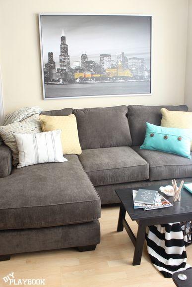Best 20 Dark Gray Sofa Ideas On Pinterest Gray Couch Decor Dark Sofa And Dark Couch