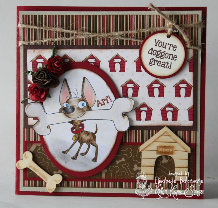 E Creations: Kraftin Kimmie Stamps: A Furry Surprise