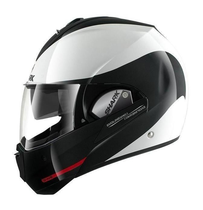 The Shark Evoline 3 ST is a modular helmet that truly and safely transforms from a full face to an open face helmet in one easy upward motion. We have all se...