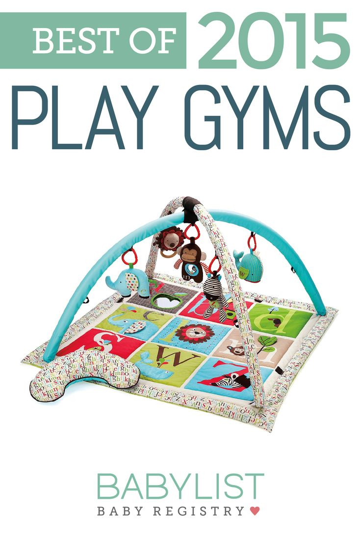 The subtle but sweet designs and colors on the Skip Hop Alphabet Zoo Activity Gym make it one of our favorite play gyms. See our guide for the rest of our top picks!