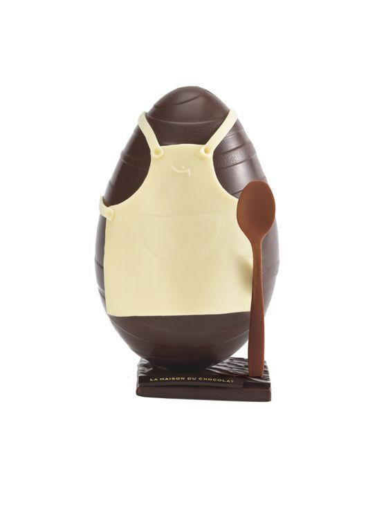L'œuf en chocolat Cyril Lignac 18 | Culture | Vogue