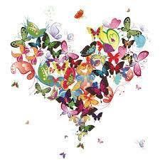 A butterfly heart, spectacular!