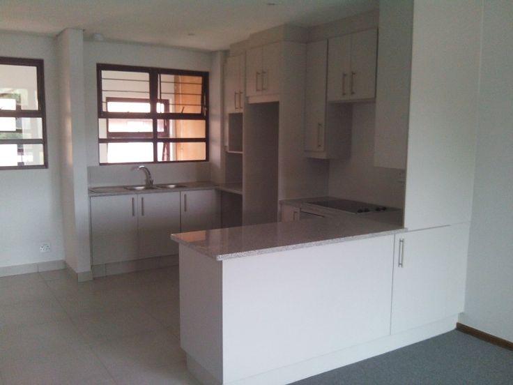 Open plan kitchen installation