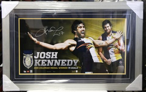 JOSH KENNEDY LTD ED LITHOGRAPH