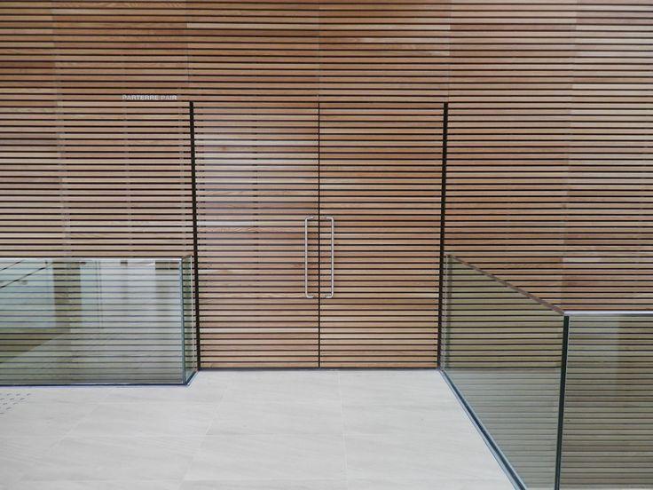 Timber cladding Lauder LINEA 421 by Laudescher wwwprocessbois - tapeten für küche