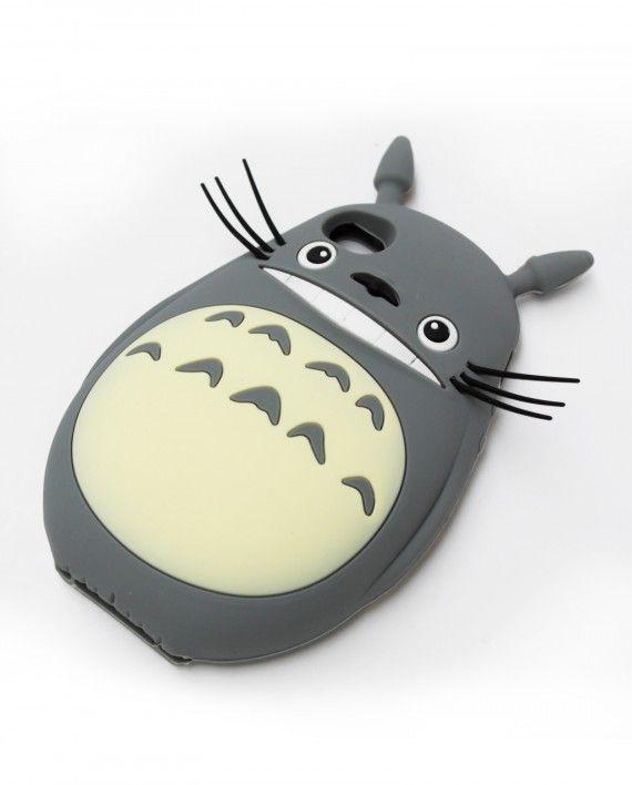 Funda de Iphone5 Totoro 16€ |pikapikashop.com       #iphone5 #iphonecase #totoro #myneighbortotoro #kawaii #love #cute #pikapikashop #barcelona