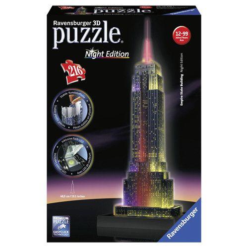 3D Puzzel Empire State Building 216 Stukjes