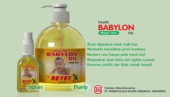 Google+, minyak telon, babylon oil