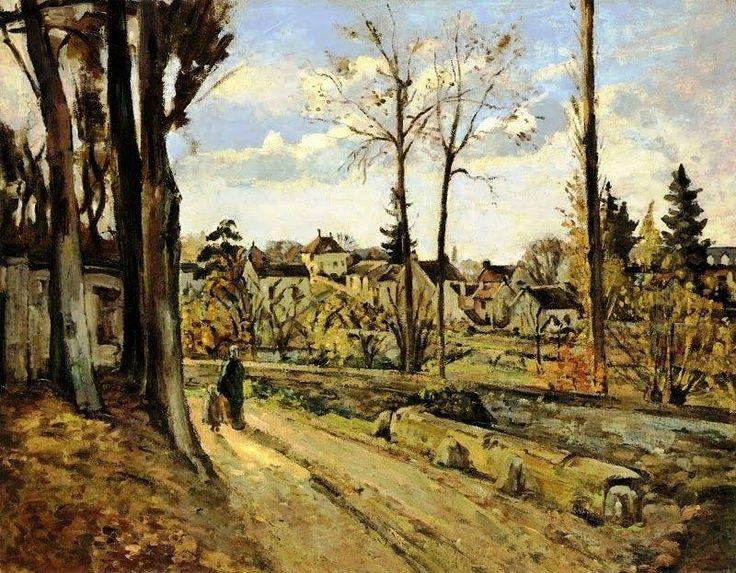 Paul Cézanne - Louveciennes c. 1872.